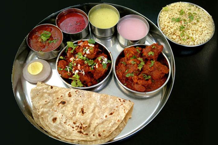 Non-vegetrian thali