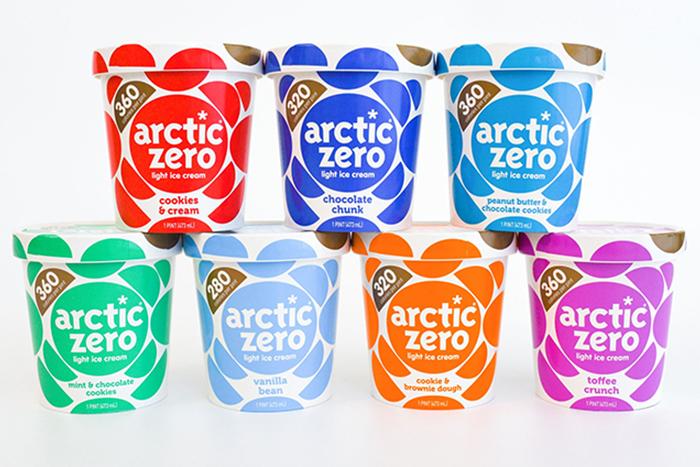 Arctic zero low calorie ice cream
