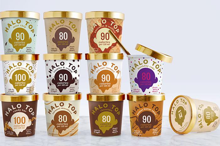 Halo Top Low Calories Ice cream