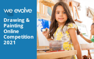 Read more about the article We Evolve Online Drawing & Painting Competition 2021