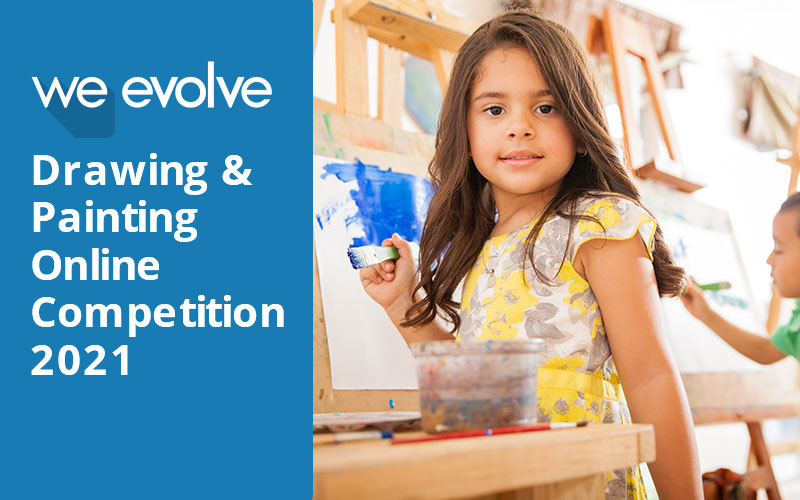 You are currently viewing We Evolve Online Drawing & Painting Competition 2021
