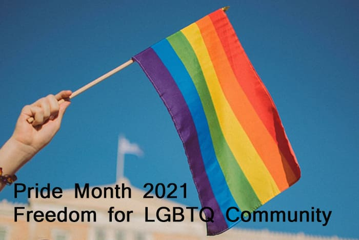 You are currently viewing Pride Month 2021 Freedom for LGBTQ+ Community